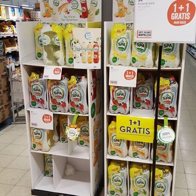 Delhaize Spa limonade 236 11 gratis korting