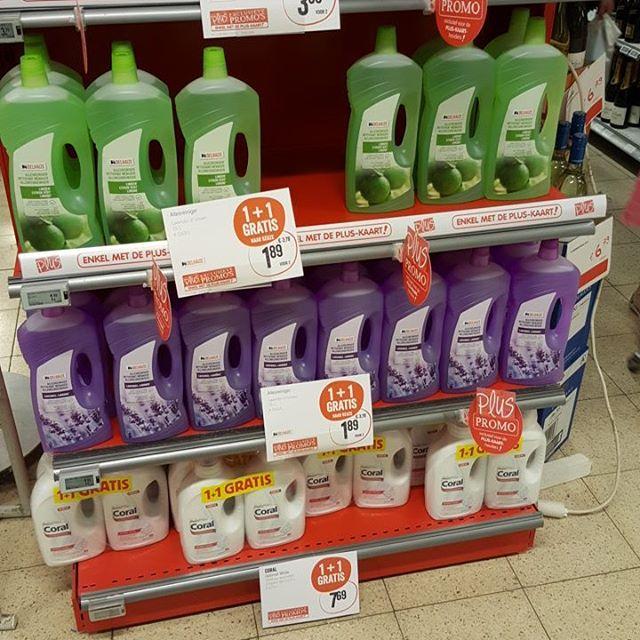Gevonden in Delhaize 236 11 gratis korting allesreiniger wasmiddel