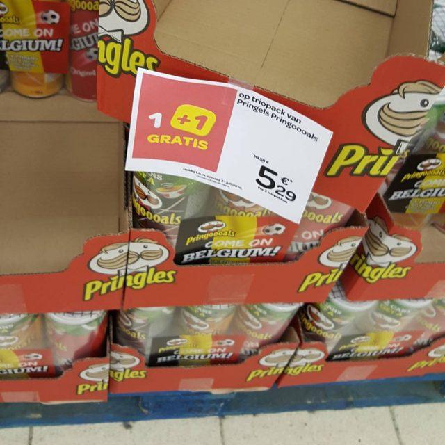 De voetbal promo trio packs Pringles gaan nu blijkbaar 11hellip